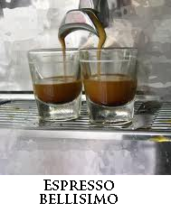 Enjoy our award winning gourmet espresso coffe.