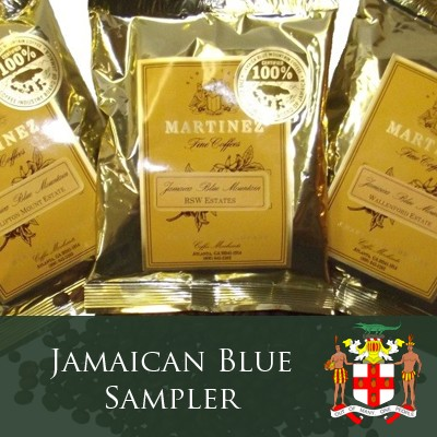 Jamaica Blue Mountain Coffee Sampler