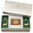 Gift Selection No. 4 - Gift Box for Two One Pound Boxes of Coffee Plus a Pound of Praline Pecans