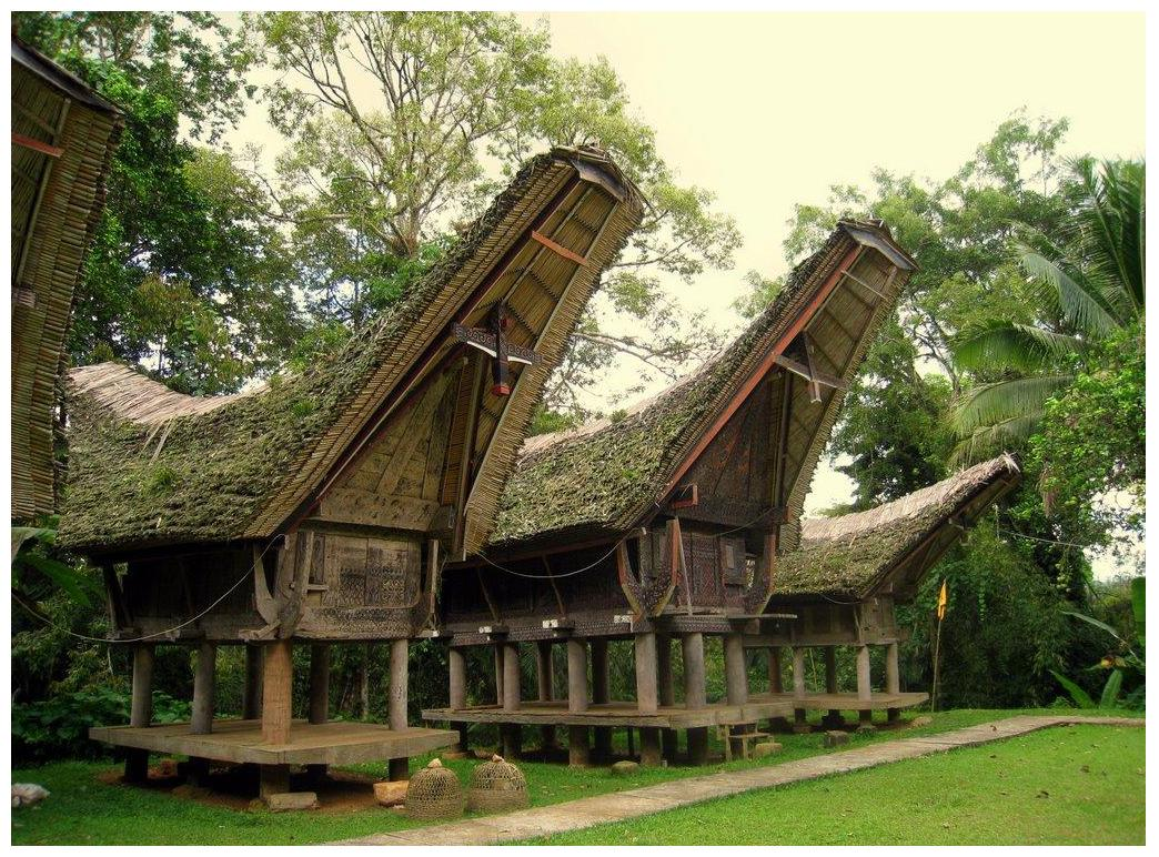 Tongkonan of the Toraja People